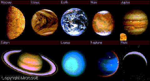 nine planets information - photo #47